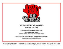 BBQ on Wheels restaurant located in SOUTH ELGIN, IL